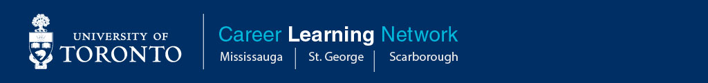 U of T Career Learning Network banner